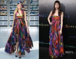 Astrid Berges-Frisbey In Chanel - 'Ghost In The Shell' New York Premiere