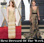 Best Dressed Of The Week - Emma Stone In Givenchy Couture, Elizabeth Banks In Elie Saab Couture, Mahershala Ali In Ermenegildo Zegna Couture & Andrew Garfield In Tom Ford