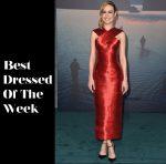 Best Dressed Of The Week - Brie Larson In Oscar de la Renta