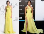 Becky G In Maria Lucia Hohan Signature - 'Power Rangers' LA Premiere