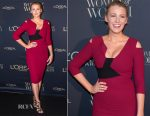 Blake Lively In Roland Mouret - Women Of Worth Gala