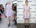 Brie Larson In Carven - SiriusXM's 'Town Hall' With The Cast Of 'Kong: Skull Island'