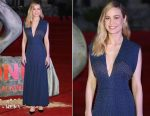 Brie Larson In Derek Lam - 'Kong: Skull Island' Mexico City Premiere