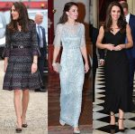 Catherine, Duchess of Cambridge In Chanel, Jenny Packman, and Alexander McQueen - In Paris