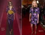 Charlize Theron In Gucci - CinemaCon 2017