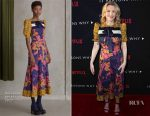 Courtney Love In Roksanda - Netflix's '13 Reasons Why' LA Premiere
