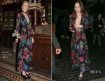 Dakota Johnson In Gucci - Elton John's 70th Birthday