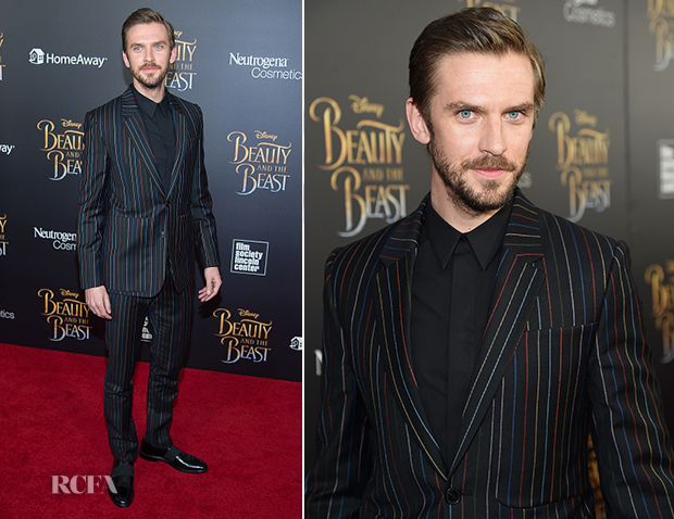 Dan Stevens In Givenchy Beauty And The Beast NYC Premiere