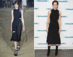 Emma Watson In 3.1 Phillip Lim - SiriusXM's 'Town Hall'