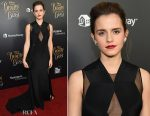 Emma Watson In Givenchy Couture - 'Beauty And The Beast' NYC Premiere