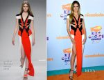 Heidi Klum In Atelier Versace - Nickelodeon's 2017 Kids' Choice Awards