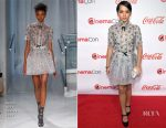 Isabela Moner In Reem Acra - The CinemaCon Big Screen Achievement Awards