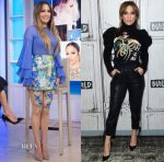 Jennifer Lopez In Yanina Couture & Zuhair Murad - The Today Show & Build Series Presents: 'Shades of Blue'