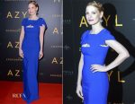 Jessica Chastain In Antonio Berardi - 'The Zookeeper's Wife' Warsaw Premiere