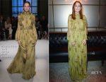 Julianne Moore In Giambattista Valli Couture – L'Oreal Paris Dinner