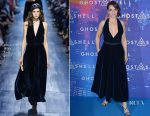 Juliette Binoche In Christian Dior - 'Ghost In The Shell' Paris Premiere