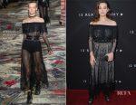 Katherine Langford In Alexander McQueen - Netflix's '13 Reasons Why' LA Premiere
