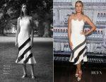 Maria Sharapova In David Koma - Evian Brand Ambassador & 750 ml Sports Bottle Launch