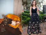 Minka Kelly In Alice + Olivia - FashionABLE Equal Pay Day kick-off Dinner