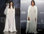 Naomi Campbell In Ralph & Russo Couture - amfAR Hong Kong