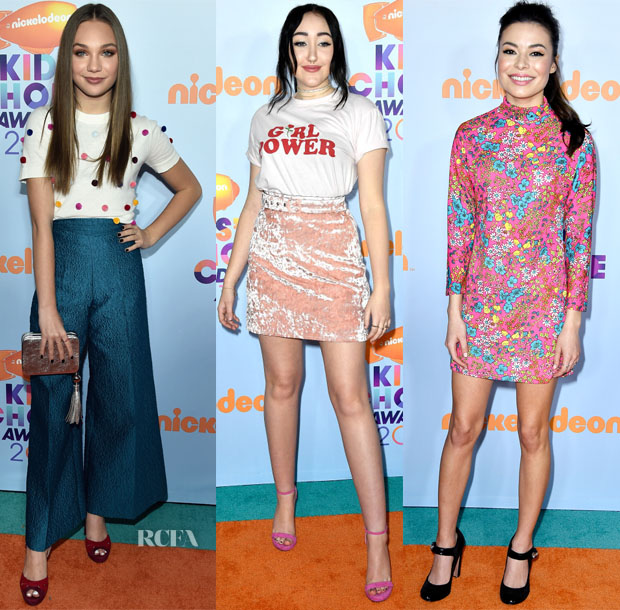 b3d7d6421e78 More starlets were also in attendance for the 2017 Nickelodeon Kids' Choice  Awards on Saturday (March 11) in LA.