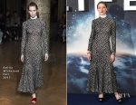 Rebecca Ferguson In Emilia Wickstead - 'Life' Photocall In London