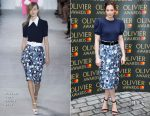 Ruth Wilson In Michael Kors - Olivier Awards Nominations Celebration