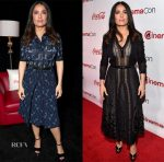 Salma Hayek In Bottega Veneta - CinemaCon 2017
