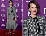 Sarah Paulson In Vintage Valentino  Premiere Of FX Network's 'Feud: Bette And Joan'