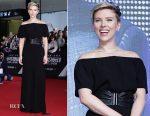 Scarlett Johansson In Azzedine Alaïa - 'Ghost In The Shell' Seoul Premiere