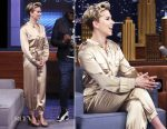 Scarlett Johansson In Haney - The Tonight Show Starring Jimmmy Fallon