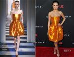 Selena Gomez In Oscar de la Renta - Netflix's '13 Reasons Why' LA Premiere