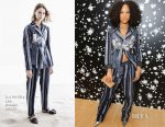 Serayah McNeill In 3.1 Phillip Lim - MOCA's Leadership Circle and Members' Opening of Kerry James Marshall: Mastry