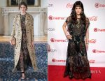 Sofia Boutella In Valentino - The CinemaCon Big Screen Achievement Awards