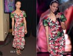 Zoe Saldana In Dolce & Gabbana -  Nickelodeon's 2017 Kids' Choice Awards