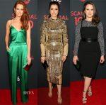 ABC's Scandal 100th Episode Celebration Red Carpet Roundup