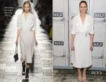Amanda Peet In Bottega Veneta - Build Series Discussion: 'Brockmire'