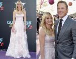 Anna Faris In Marchesa - 'Guardians Of The Galaxy Vol. 2' LA Premiere