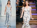 Anne Hathaway In Luisa Beccaria - The Late Late Show with James Corden