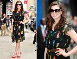 Anne Hathaway In Vintage - Good Morning America