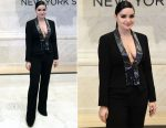 Ariel Winter In Jovani Signature - New York Stock Exchange Closing Bell
