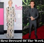 Best Dressed Of The Week - Nicole Kidman In Alexander McQueen & Tom Holland In Emporio Armani