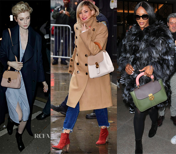 c0ba161b1c38 Celebrities Love...Burberry's DK88 Bag - Red Carpet Fashion Awards