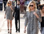 Charlize Theron In Saint Laurent - Jimmy Kimmel Live!
