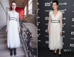 Charlotte Casiraghi In Giambattista Valli - Montblanc & UNICEF Gala Dinner