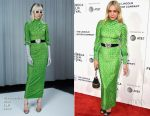 Chloe Sevigny In Alessandra Rich - 2017 Tribeca Film Festival After Party For 'The Dinner'