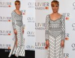 Cush Jumbo In Burberry - 2017 Olivier Awards