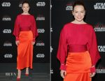 Daisy Ridley In Stella McCartney - Star Wars: The Last Jedi Panel at the 2017 Star Wars Celebration