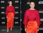 Daisy Ridley In Stella McCartney - Star Wars: The Last Jedi Panel at the 2017 Star Wars Celebration