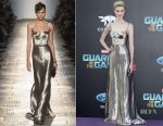 Elizabeth Debicki In Bottega Veneta - 'Guardians Of The Galaxy Vol. 2' LA Premiere